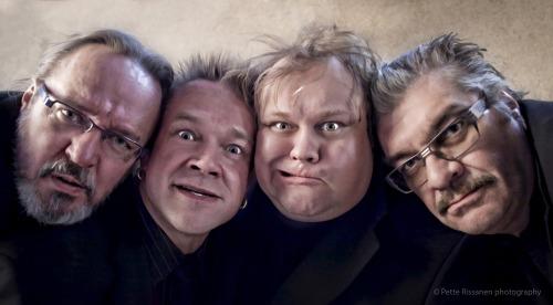 Antti Tammilehto, Puntti Valtonen, Tume Uusitalo ja Jussi Lampi